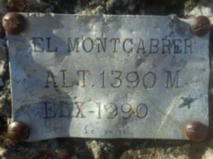 el montcabrer alt 1390 m el x-1990