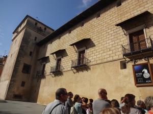 sobre els murs, vaig veure les torres