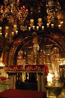 Calvario o Gólgota es el nombre dado al monte o colina a las afueras de Jerusalén donde tuvo lugar la crucifixión de Jesús. Su nombre proviene de la forma de calavera que tenían las rocas de una de sus laderas.