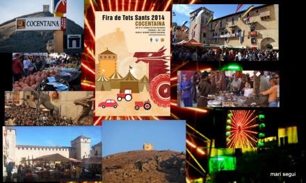 La Feria de todos los Santos de Cocentaina (en Valenciano Fira de Tots Sants) es una concentración lúdica y comercial que se celebra en esta población española. Fue creada en el año 1346 por privilegio real concedido por Pedro IV de Aragón al conde de Cocentaina, Roger de Lauria. Es la segunda feria por antigüedad de España. Actualmente se celebra durante la semana en la que cae el día de Todos los Santos (el 1 de noviembre), y atrae cada año a más de 600.000 visitantes en un espacio de 90.000 m2. La feria está dividida en tres espacios. El más importante y tradicional es el de Maquinaria agrícola, que hoy en día ocupa la parte central de la Feria; en la que se exponen automóviles, camiones, maquinaria agrícola y de construcción...; otras zonas de la feria están dedicadas al zoco árabe, mercado Cristiano, la feria caballar, de animales, atracciones infantiles,