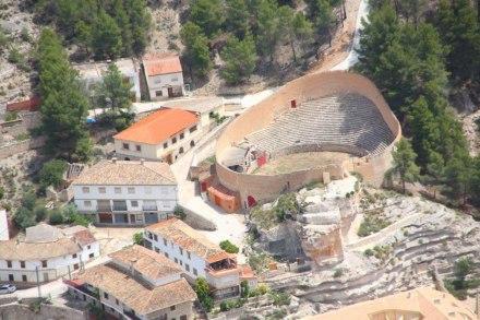Plaza de Toros, Alcalá del Júcar cuenta con una de las más originales ...