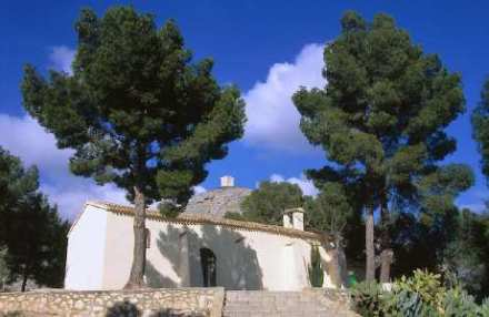 Dia de la Purissima en la festa de la corriola en l'ermita de Santa Bàrbera...inolvidable santa barbara