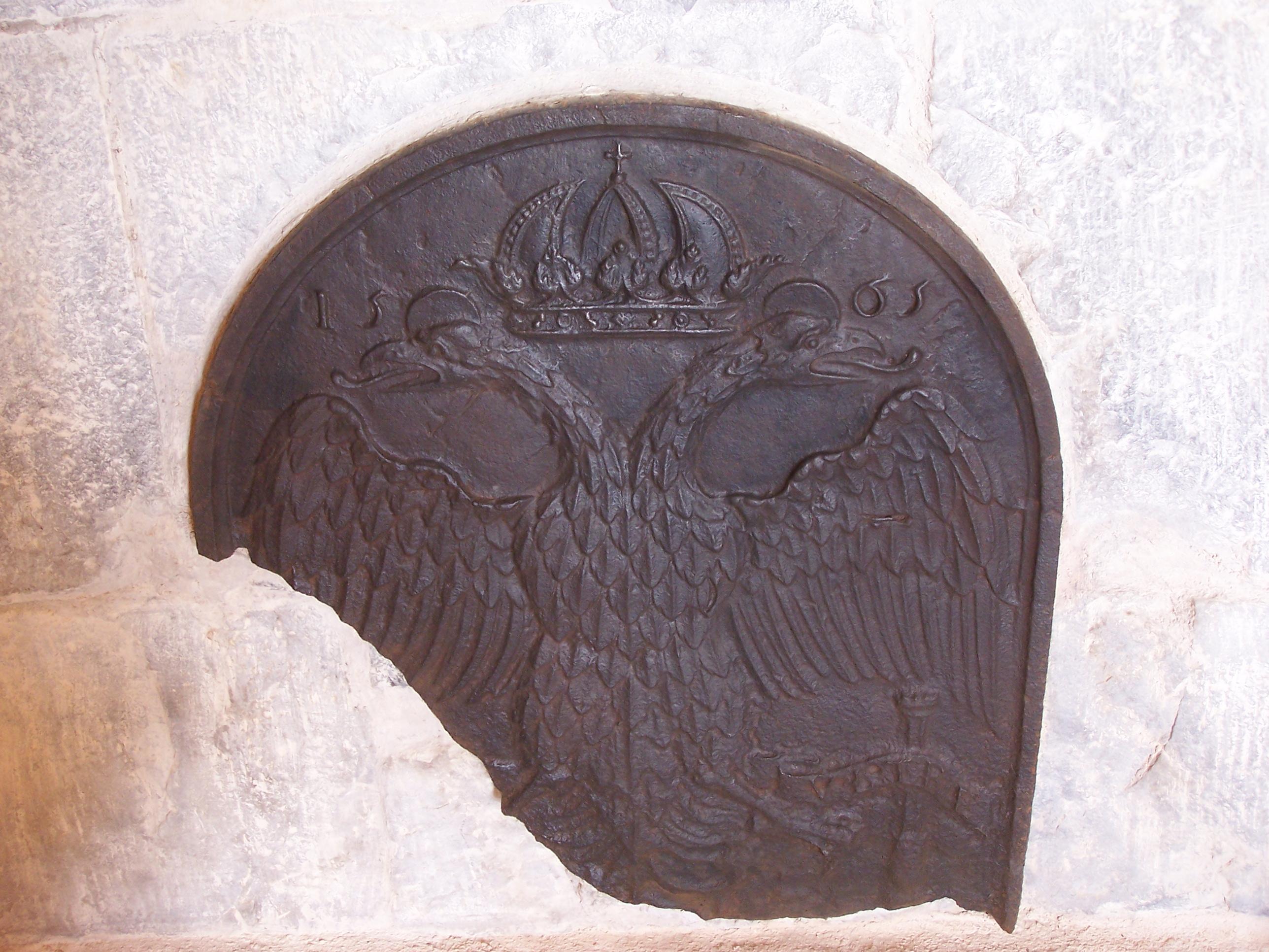 Cocentaina - Palau Comtal - Sala de la Xemeneia - Escudo