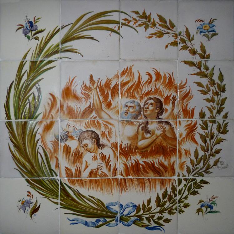 Ánimas Benditas del Purgatorio. (Siglo XIX)